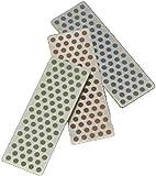 DMT W7EFC Diamond Whetstone Mini Diamond Stone - Coarse / Fine / Extra-Fine - Set of 3 by Diamond Machine Technology (DMT)