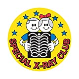 PDC Healthcare 59701460 Label,SPECIAL X-RAY CLUB, 2'' Circle, Yellow (Pack of 250)