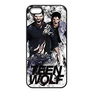 C-EUR Diy Teen Wolf Hard Back Case for Iphone 5 5g 5s