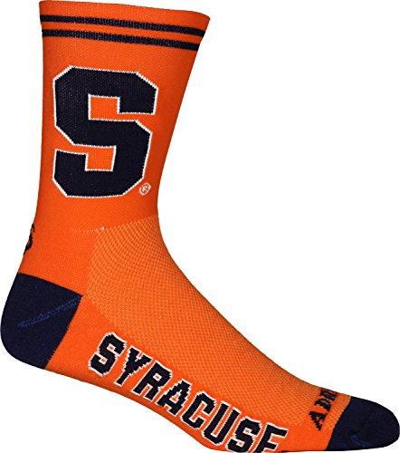 Adrenaline Promotions NCAA Syracuse Orange Cycling/Running Socks, Orange, Large/X-Large ()