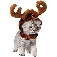 Perro Gato Navidad Diadema Astas De Reno