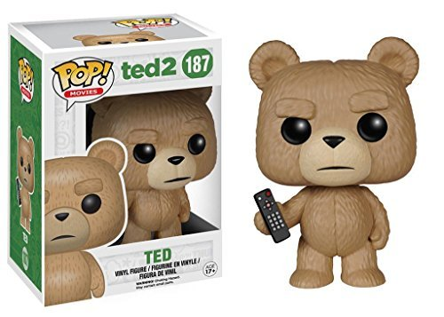 Funko Pop Movies Ted 2: Ted With Remote Vinyl Action Figure Collectible Toy
