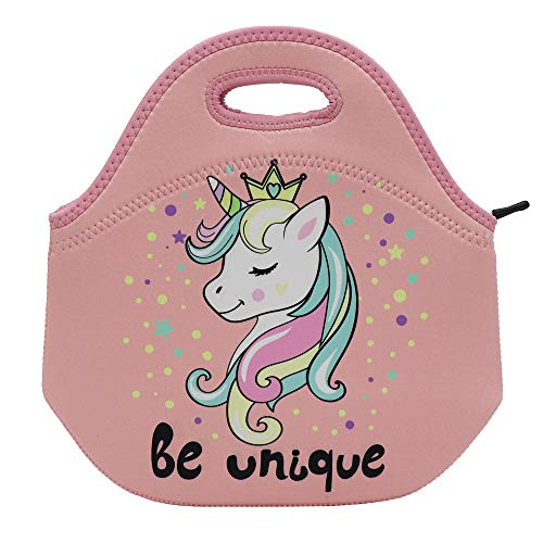 nsulated Lunch Box Tote for Women Men Adult Kids Teens Boys Teenage Girls Toddlers (Unicorn) ()