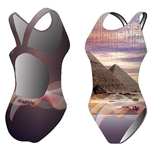 Diapolo Egypt 3D Badeanzug aus der History Kollektion für Schwimmen Synchronschwimmen Wasserball Triathlon