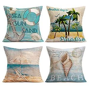 514FNMJrPVL._SS300_ 100+ Nautical Pillows & Nautical Pillow Covers