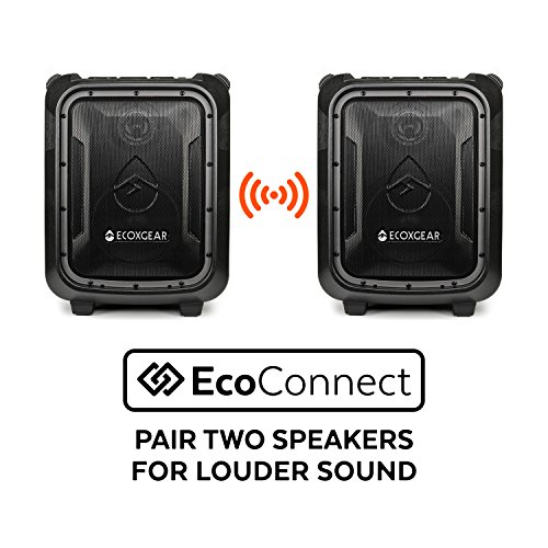 ECOXGEAR GDI-EXBLD810 Waterproof Portable Bluetooth/AM/FM Wireless 100W Speaker & PA system by ECOXGEAR (Image #7)