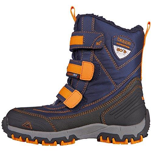 Kurzschaft orange navy Ben Stiefel Kappa Kinder Blau Teens Tex Unisex 6744 qZwCSxn4X