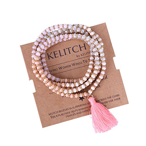 KELITCH Crysta Necklace Pendant Bracelet