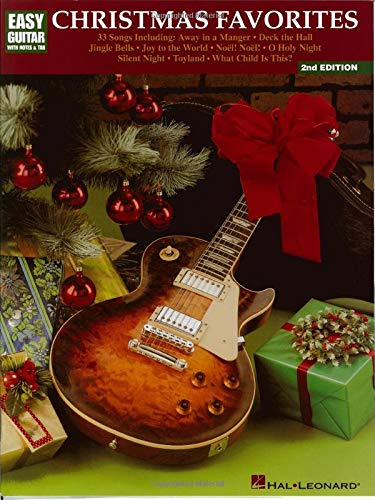 Christmas Favorites: Easy Guitar with Notes & Tab (Songs Chords Christmas 4)