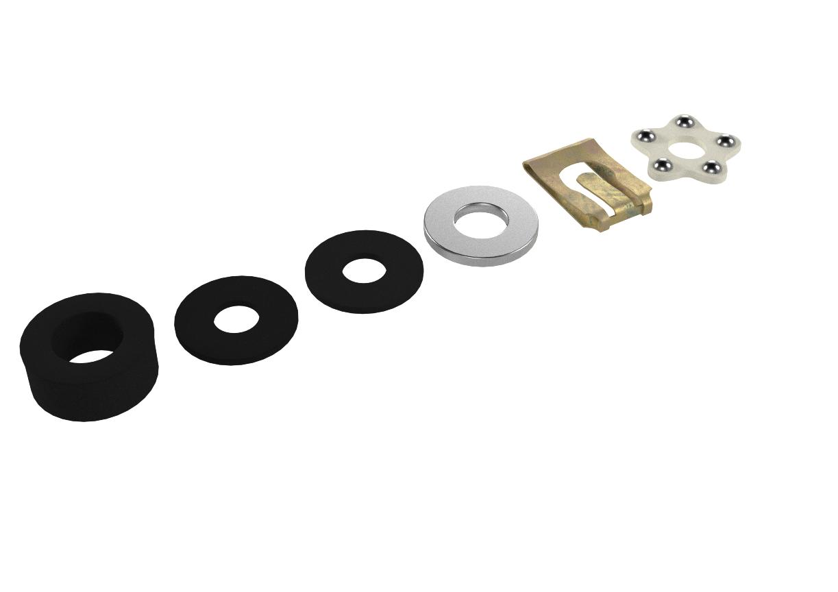 Amazon Com Replacement Hardware Repair Kit For Office Chair Gas Lift Cylinder Includes Clip Washers Bearing S4451 K Furniture Decor