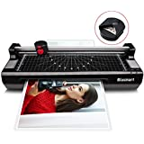 4 in 1 Blusmart OL288 Laminator, A4, Rotary Trimmer/Corner Rounder/10 Laminating Pouches, Black4