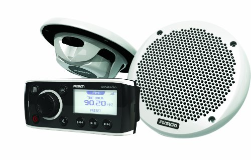 Fusion MS-RA50KTS Combo Pack with MS-RA50 Head Unit and MS-EL602 Speakers primary