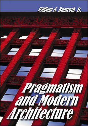 Book Pragmatism and Modern Architecture