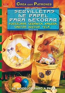 Servilletas de papel para decorar porcelana, cerámica, madera, cartón, huevos--