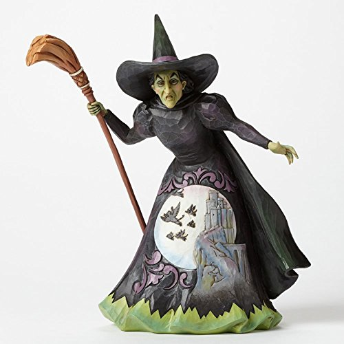 Jim Shore Wizard of Oz Wickedness the Wicked Witch of the West Figurine 4045420 -