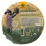 Lotus Foods Organic Brown Jasmine Rice - Case of 6-7.4 oz.