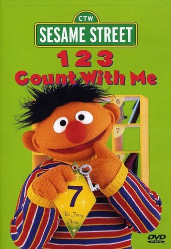 Sesame Street: 123 Count With Me (Elmo Dvd 123)