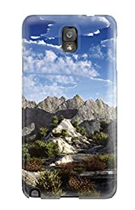 Mary E Fusco Snap On Hard Case Cover Earth Landscape Protector For Galaxy Note 3