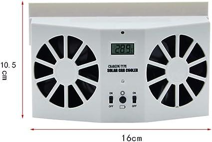 Ventilador de ventilación para ventana de coche, funciona con ...