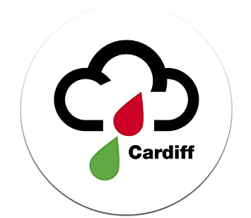 Magoo 138 Cardiff Wales Retro Weather Symbol Funny Magnetic