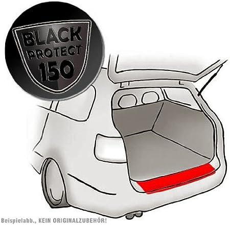 Autofolie und Schutzfolie schwarz matt//Black 150/µm Passform Lackschutzfolie als Selbstklebender Ladekantenschutz passend f/ür Citroen C1