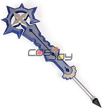Exclusive Kingdom Hearts Birth By Sleep the Completed X-Blade PVC Cosplay Prop