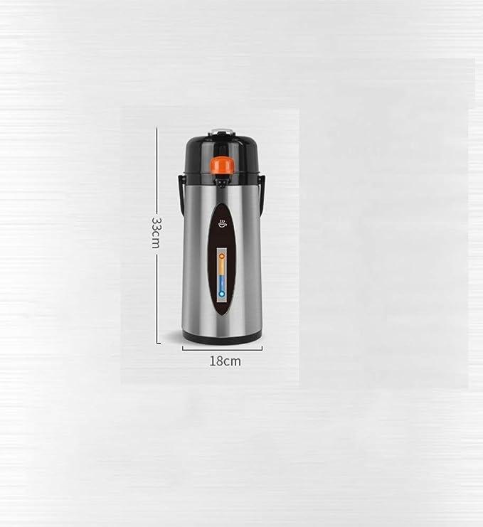 WJL Botella de Agua de Caldera de Acero Inoxidable para el Hogar,Negro,1: Amazon.es: Deportes y aire libre