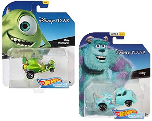 HW Monsters Inc. Mike & Sulley Character Car Bundle!!! -