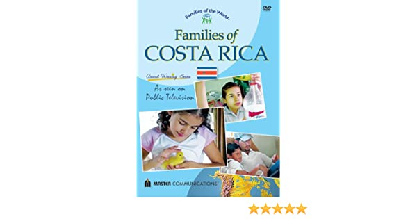 Amazon.com: Families of Costa Rica (Families of the World): Costa ...