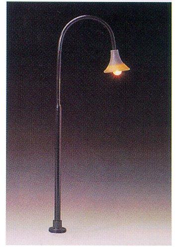 Model Power O Gooseneck Lamp Post (3) MDP6083