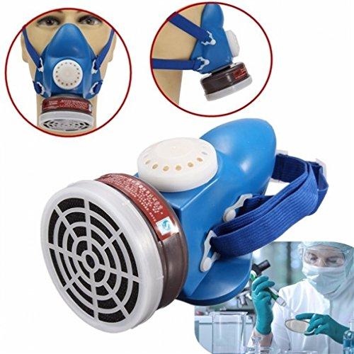 (Ship from US) Half Gas Organic Vapor Mask Respirator Single Tank Self Priming Filter Cartridge from Neolifu