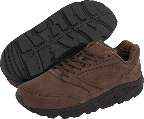 Brooks Men's Addiction, Brown Suede, 11 EE-Wide