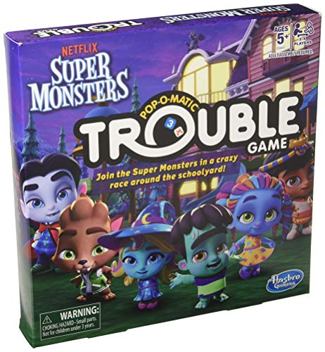 Hasbro Trouble: Netflix Super Monsters Edition Board Game Ki