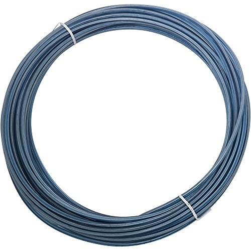 National Hardware N267-021 2574BC Plastic Coated Wire in Blue - Plastic -