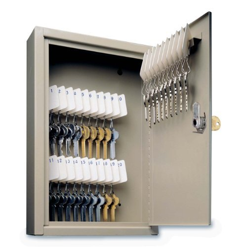 (MMF Industries 30-Key Uni-Tag Single-Tag Compact Steel Key Cabinet (201903003) by MMF Industries )