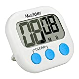 Magnetic Digital Kitchen Timer with Large LCD Display (Blue)