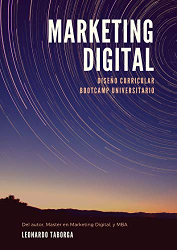 Marketing Digital: Diseño Curricular Bootcamp (Spanish Edition) by [Taborga Jironda, Leonardo