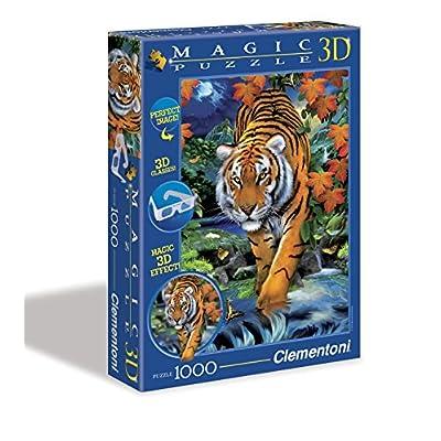 Clementoni 39185 On The Prowl 3d Magic Puzzle 1000 Pezzi