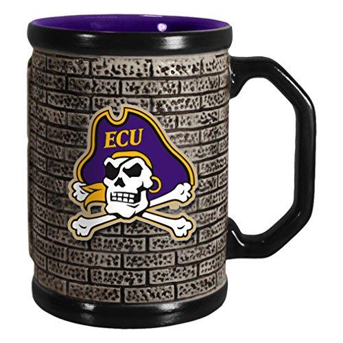 Bolter Brands NCAA East Carolina Pirates, 15-ounce
