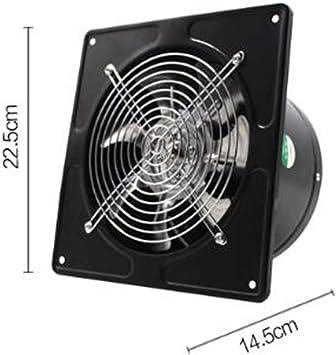 AK Ventiladores de escape del hogar Ventana Ventilación de la cocina Extractor de humos Volumen de aire silencioso: 500M3 / H, Velocidad: 2800R / Min,: Amazon.es: Bricolaje y herramientas