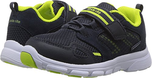Stride Rite Boys' Made 2 Play Taylor Sneaker, Navy, 8.5 M US