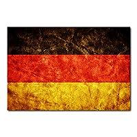 Placa Decorativa - Bandeira Alemanha - 0309plmk