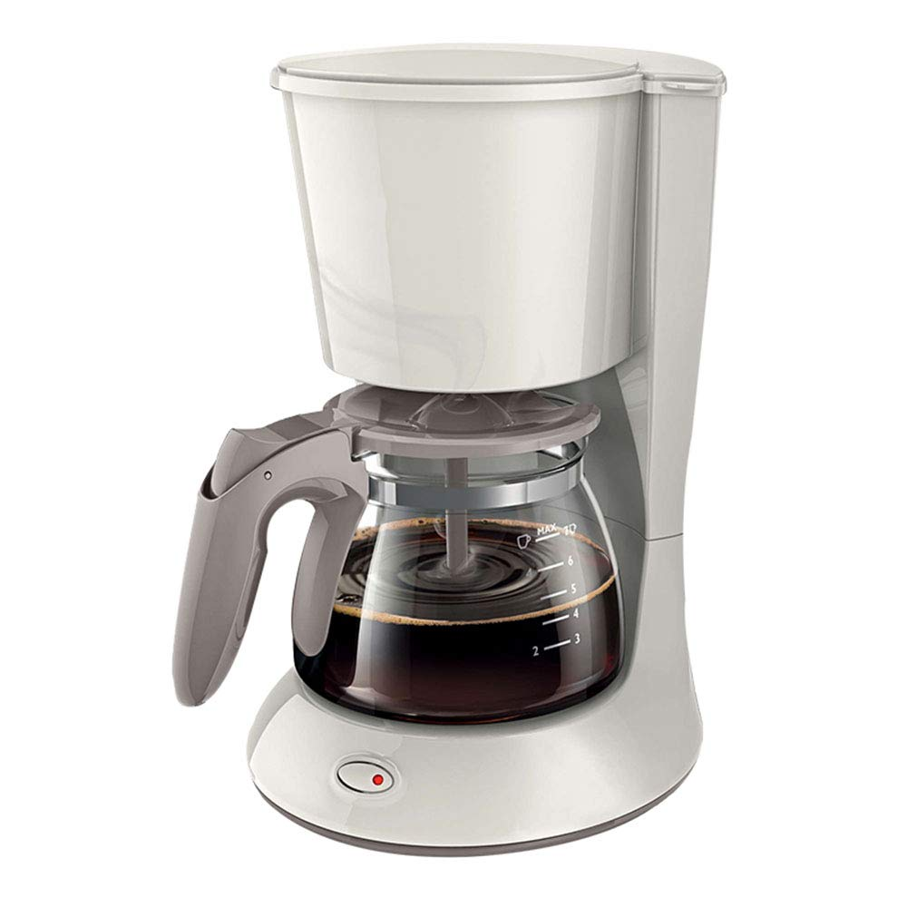 Cafetera Goteo, Jarra De Vidrio 600Ml, 700 W, 6 Tazas,White ...