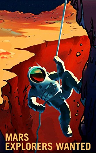 Posterazzi Explorers Wanted Poster Print by NASA (12 x 18) from Posterazzi