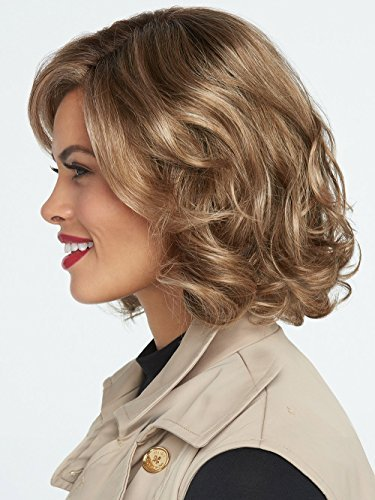 Hairdo Hairuwear Raquel Welch Brave The Wave Collection With Shoulder Length Modern Scrunched Soft Wavy Chic Hair, R1621S+ Glazed Sand by HairDo (Image #2)