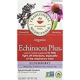 Traditional Medicinals Organic Echinacea Plus Elderberry, 20 tea bags