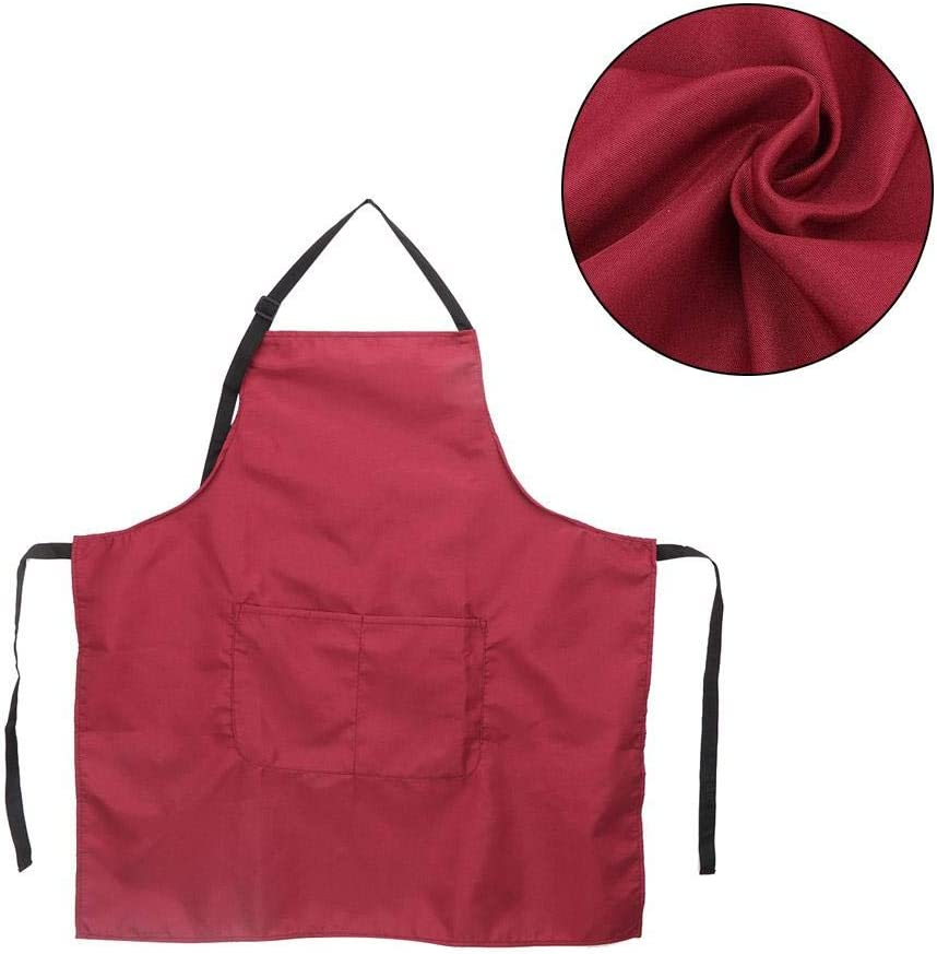 Adults Apron Waterproof Kitchen Cooking Apron Sleeveless Artist Apron with Pockets for Art Painting Activity Pottery Classroom Community Event Crafts Beige