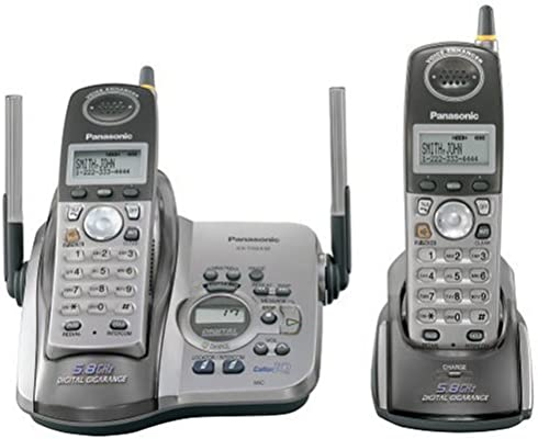 Panasonic KX-TG5432 M 5.8 GHz Platinum Teléfono inalámbrico con Sistema de Respuesta y Dual Terminales: Amazon.es: Electrónica