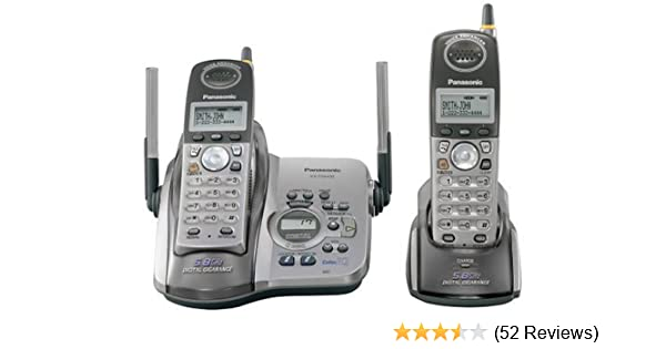 panasonic kx tg5432m manual how to and user guide instructions u2022 rh taxibermuda co 5GHz Cordless Phone 2-Line Cordless Phone