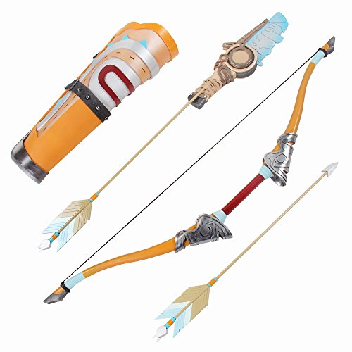 Mtxc The Legend of Zelda: Breath of the Wild Cosplay Link Prop Bow & Arrow Orange